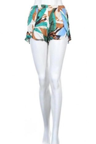 Дамски къс панталон Oysho, Размер S, Цвят Многоцветен, Вискоза, Цена 33,00лв.