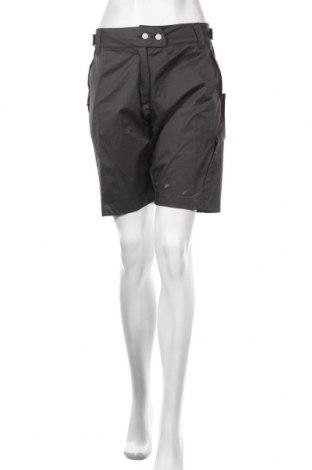 Дамски къс панталон Protective, Размер M, Цвят Сив, 97% памук, 3% еластан, Цена 39,60лв.