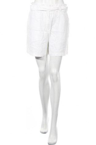 Γυναικείο κοντό παντελόνι Soya Concept, Μέγεθος M, Χρώμα Λευκό, 55% λινό, 45% βισκόζη, Τιμή 18,76€