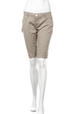 Дамски къс панталон Sublevel, Размер S, Цвят Кафяв, 98% памук, 2% еластан, Цена 19,00лв.