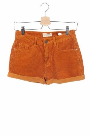 Γυναικείο κοντό παντελόνι Twintip, Μέγεθος S, Χρώμα Πορτοκαλί, 100% βαμβάκι, Τιμή 8,42€