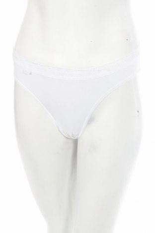 Дамски комплект Sloggi, Размер M, Цвят Бял, 92% памук, 8% еластан, Цена 27,75лв.