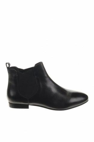 Γυναικεία παπούτσια Kiomi, Μέγεθος 40, Χρώμα Μαύρο, Γνήσιο δέρμα, Τιμή 35,49€