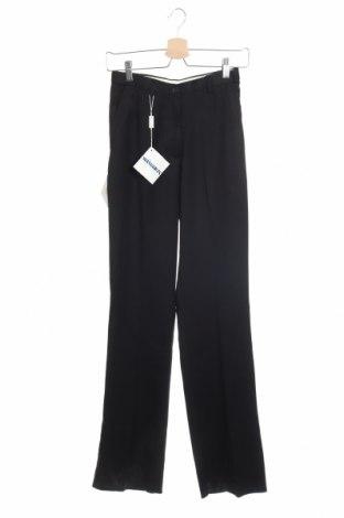 Дамски панталон, Размер M, Цвят Черен, 65% полиестер, 35% вискоза, Цена 10,47лв.