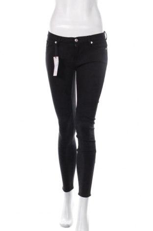 Дамски панталон 7 For All Mankind, Размер M, Цвят Черен, 88% полиестер, 12% еластан, Цена 88,80лв.