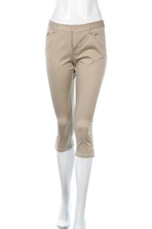 Γυναικείο παντελόνι Bossini, Μέγεθος S, Χρώμα  Μπέζ, 97% βαμβάκι, 3% ελαστάνη, Τιμή 5,23€