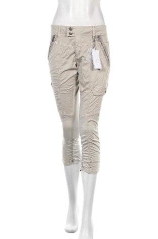 Дамски панталон Culture, Размер S, Цвят Сив, 98% памук, 2% еластан, Цена 32,50лв.