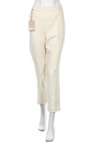 Γυναικείο παντελόνι MOS MOSH, Μέγεθος L, Χρώμα  Μπέζ, 65% πολυεστέρας, 32% βισκόζη, 3% ελαστάνη, Τιμή 36,70€