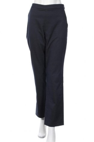 Дамски панталон Mads Norgaard, Размер M, Цвят Син, 48% памук, 27% полиестер, 23% вълна, 2% еластан, Цена 20,80лв.