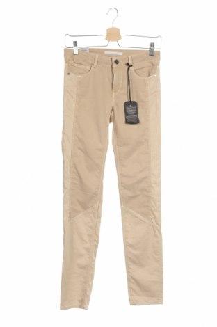 Дамски панталон Mavi, Размер S, Цвят Бежов, 86% памук, 11% полиестер, 3% еластан, Цена 9,77лв.