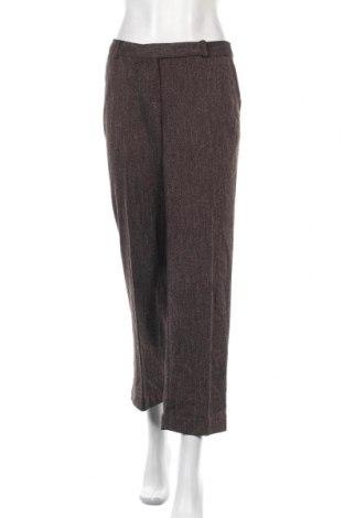 Дамски панталон Norton Mc Naughton, Размер S, Цвят Кафяв, 81% полиестер, 18% вискоза, 1% еластан, Цена 8,32лв.
