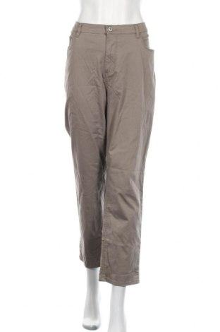 Дамски панталон Stooker, Размер XL, Цвят Кафяв, 98% памук, 2% еластан, Цена 6,56лв.