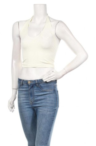 Γυναικείο αμάνικο μπλουζάκι BDG, Μέγεθος M, Χρώμα Λευκό, 94% πολυαμίδη, 6% ελαστάνη, Τιμή 6,35€