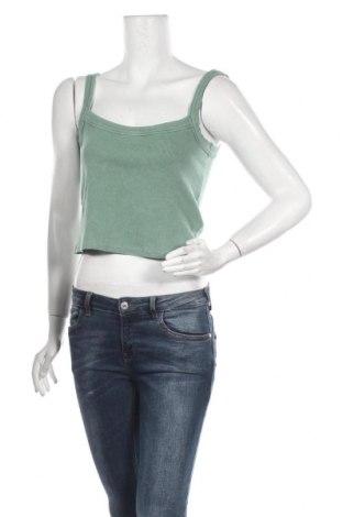 Γυναικείο αμάνικο μπλουζάκι BDG, Μέγεθος L, Χρώμα Πράσινο, 97% βαμβάκι, 3% ελαστάνη, Τιμή 6,06€