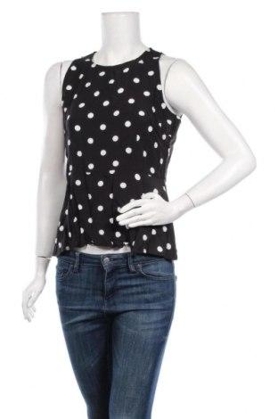 Γυναικείο αμάνικο μπλουζάκι Mint & Berry, Μέγεθος L, Χρώμα Μαύρο, Βισκόζη, Τιμή 6,20€