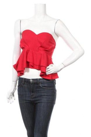 Дамски потник New Look, Размер M, Цвят Червен, 95% полиестер, 5% еластан, Цена 13,00лв.