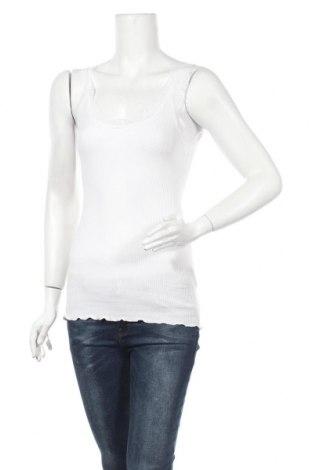 Γυναικείο αμάνικο μπλουζάκι Rosemunde, Μέγεθος S, Χρώμα Λευκό, 100% βαμβάκι, Τιμή 21,29€