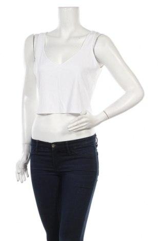 Γυναικείο αμάνικο μπλουζάκι Weekday, Μέγεθος L, Χρώμα Λευκό, 87% βισκόζη, 13% ελαστάνη, Τιμή 4,88€