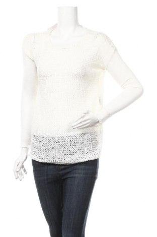 Дамски пуловер, Размер XS, Цвят Бял, 61% акрил, 39% полиамид, Цена 5,25лв.