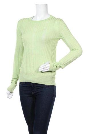 Дамски пуловер & Other Stories, Размер S, Цвят Зелен, 57% вискоза, 43% памук, Цена 4,83лв.
