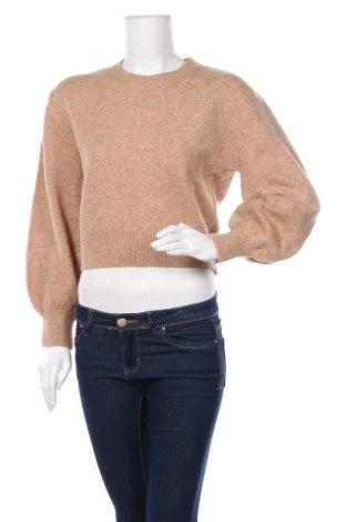 Дамски пуловер & Other Stories, Размер S, Цвят Бежов, 62% акрил, 28% полиамид, 8% вълна, 2% еластан, Цена 70,52лв.