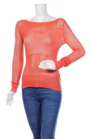 Дамски пуловер BCBG Max Azria, Размер XS, Цвят Оранжев, 51% акрил, 49% вълна, Цена 14,40лв.