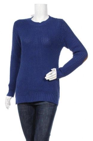 Дамски пуловер Life Time, Размер M, Цвят Син, Памук, Цена 6,83лв.