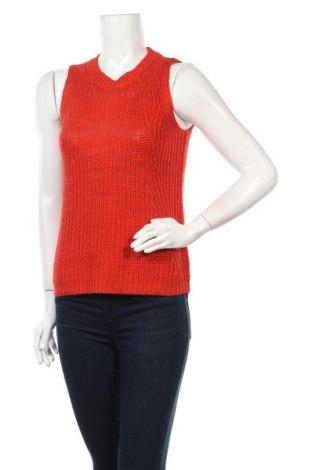 Дамски пуловер Loft, Размер S, Цвят Оранжев, Акрил, Цена 11,03лв.