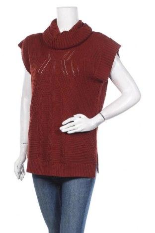 Дамски пуловер Suzy Shier, Размер M, Цвят Кафяв, Акрил, Цена 5,80лв.