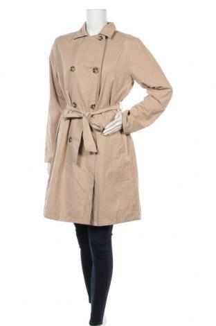 Дамски шлифер Anko, Размер XL, Цвят Бежов, 55% полиестер, 33% памук, 12% полиамид, Цена 18,45лв.