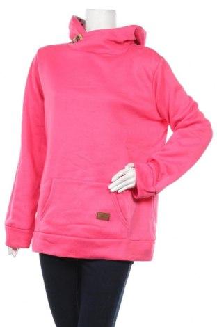 Дамски суичър, Размер 3XL, Цвят Розов, 65% памук, 35% полиестер, Цена 17,01лв.