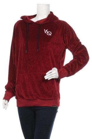 Дамски суичър, Размер XL, Цвят Червен, 97% полиестер, 3% еластан, Цена 17,75лв.