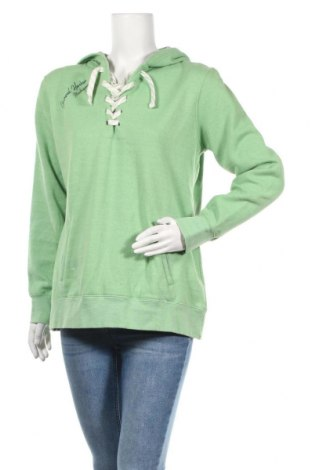 Дамски суичър, Размер L, Цвят Зелен, 60% памук, 40% полиестер, Цена 13,65лв.