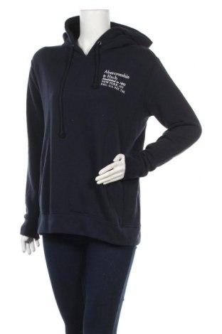 Дамски суичър Abercrombie & Fitch, Размер S, Цвят Син, 60% памук, 40% полиестер, Цена 51,00лв.