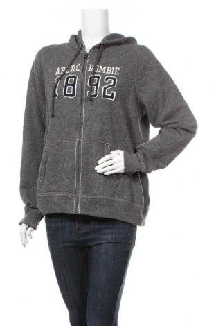 Дамски суичър Abercrombie & Fitch, Размер XL, Цвят Сив, 60% памук, 40% полиестер, Цена 77,81лв.
