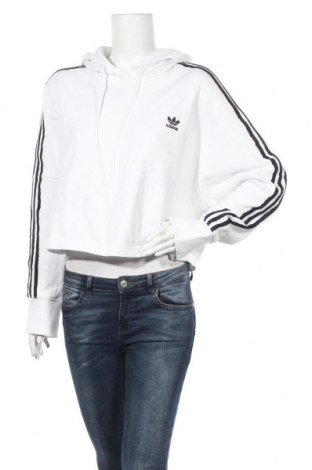 Дамски суичър Adidas Originals, Размер XL, Цвят Бял, Памук, Цена 73,50лв.