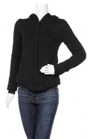 Дамски суичър BCBG Max Azria, Размер XS, Цвят Черен, 55% памук, 45% модал, Цена 32,34лв.