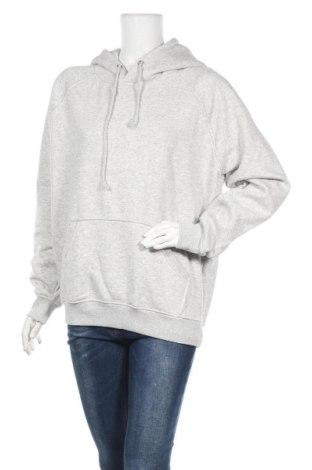 Дамски суичър Bik Bok, Размер M, Цвят Сив, 56% полиестер, 44% памук, Цена 42,75лв.