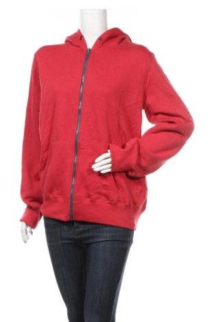 Дамски суичър Cubus, Размер L, Цвят Червен, 802% памук, 20% полиестер, Цена 14,44лв.