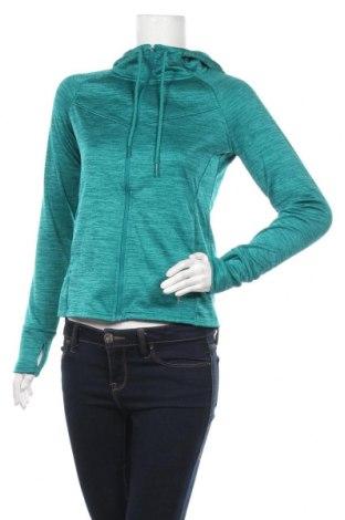 Дамски суичър Danskin, Размер XS, Цвят Зелен, Полиестер, Цена 18,43лв.