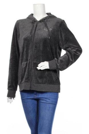 Дамски суичър Design By Kappahl, Размер XL, Цвят Сив, 80% памук, 20% полиестер, Цена 19,32лв.