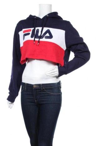 Дамски суичър Fila, Размер XL, Цвят Син, 65% полиестер, 35% памук, Цена 13,86лв.