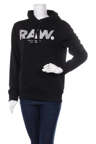 Дамски суичър G-Star Raw, Размер M, Цвят Черен, 60% памук, 40% полиестер, Цена 131,25лв.