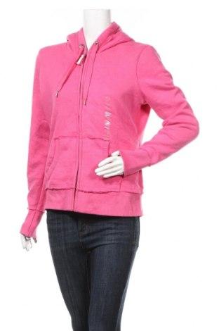 Дамски суичър H&M L.O.G.G., Размер L, Цвят Розов, 70% памук, 30% полиестер, Цена 15,02лв.