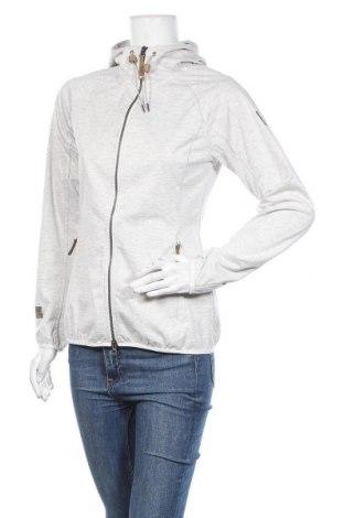 Дамски суичър Icepeak, Размер S, Цвят Сив, 65% полиестер, 35% памук, Цена 54,75лв.