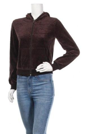 Дамски суичър Juicy Couture, Размер M, Цвят Кафяв, 80% памук, 20% полиестер, Цена 29,93лв.