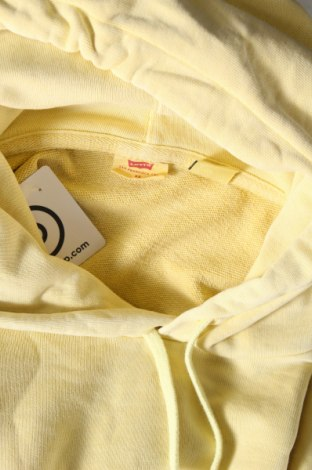 Дамски суичър Levi's, Размер XS, Цвят Жълт, Памук, Цена 58,50лв.