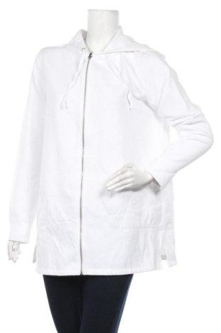 Дамски суичър Liz Claiborne, Размер XL, Цвят Бял, 55% памук, 45% полиестер, Цена 17,64лв.