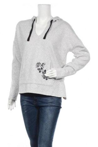 Дамски суичър Manguun, Размер XL, Цвят Сив, 60% памук, 40% полиестер, Цена 22,68лв.