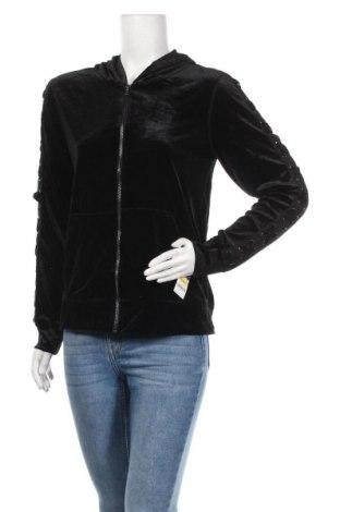 Дамски суичър Material Girl, Размер M, Цвят Черен, 93% полиестер, 7% еластан, Цена 20,79лв.